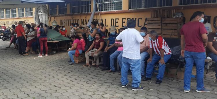 Protesta San Gabriel Suchitepéquez