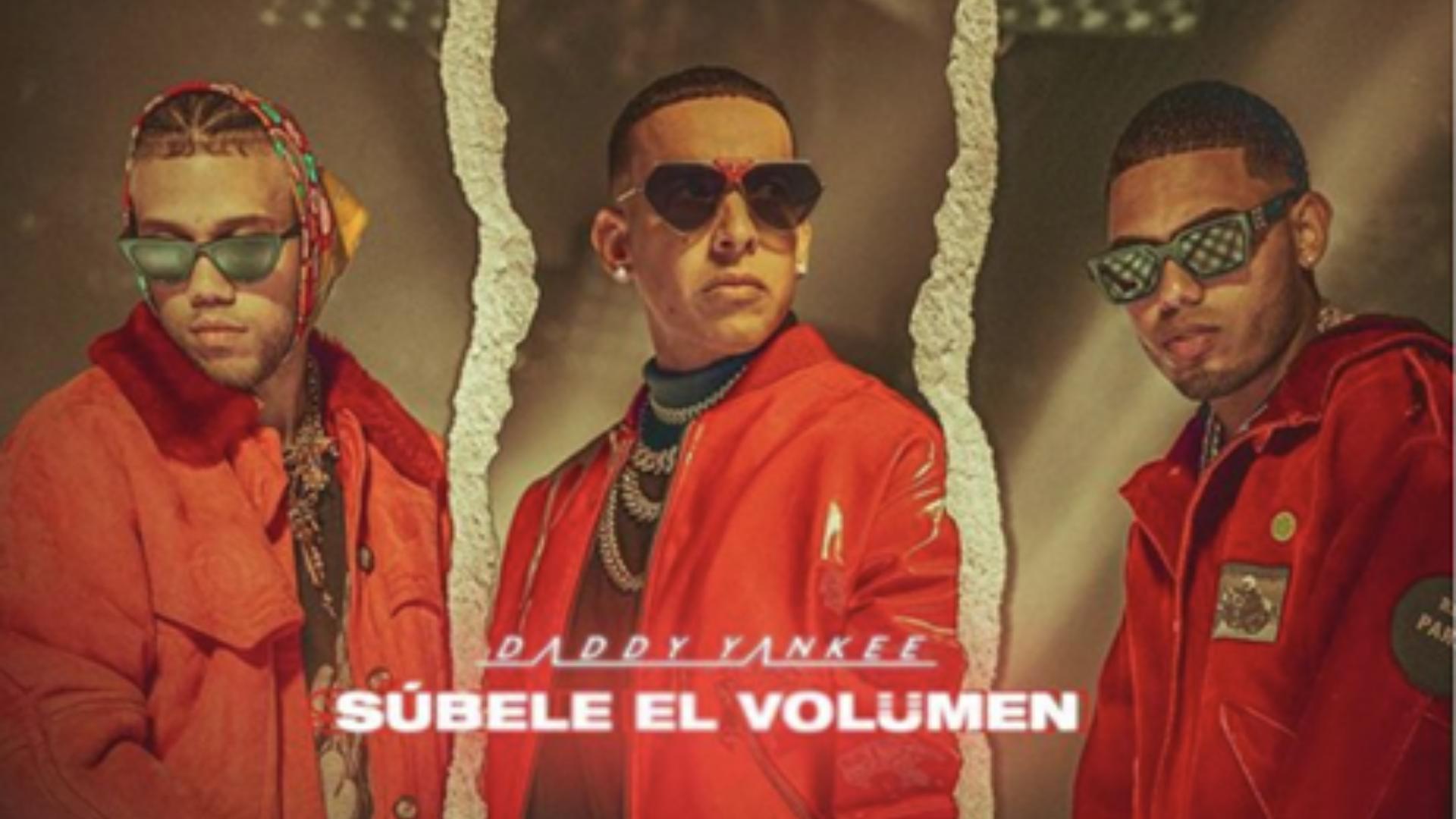 """La noche del miércoles 14 de junio, Daddy Yankee reveló la portada de su nuevo sencillo """"Súbele el volumen"""" con Myke Towers y Jhay Cortez. El lanzamiento de este fue entonces el viernes 16 de julio a través de El Cartel Records/ Republic Records."""