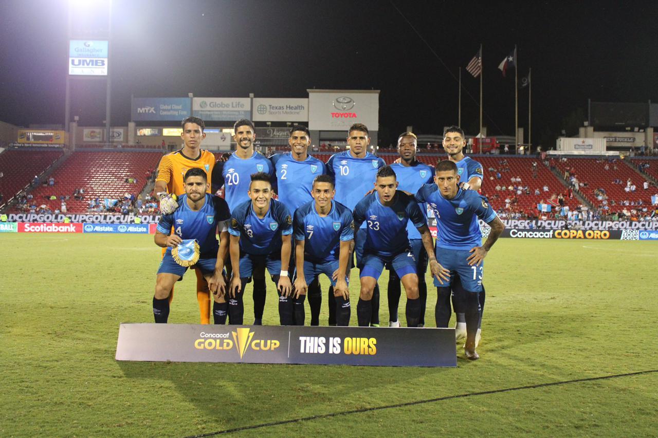 La Selección Nacional se despidió de la Copa Oro en el último lugar de su grupo, luego de empatar 1-1 contra Trinidad y Tobago en la última jornada. Guatemala participó del torneo por invitación para sustituir a Curazao luego de un contagio masivo de COVID-19, tras no lograr su clasificación.