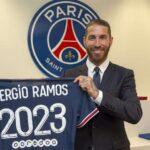 El defensa internacional español Sergio Ramos ha fichado por el Paris Saint-Germain -PSG- por dos temporadas; el acuerdo es hasta el 30 de junio de 2023, anunció este jueves el club francés.