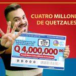 Lotería Santa Lucía realizará sorteo con un premio mayor de Q4 millones