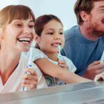 Los cuidados bucodentales unen a la familia