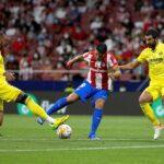 """El delantero uruguayo del Atlético de Madrid Luis Suárez, que se retiró lesionado del partido contra el Villarreal (2-2), ha quedado fuera de su selección por la lesión. Sufre un """"edema moderado"""" en la rodilla izquierda; por lo que ha sido descartado para las próximas eliminatorias mundialistas."""