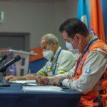 La Coordinadora Nacional para la Reducción de Desastres -Conred- y Cementos Progreso renovaron un convenio de cooperación. Esto con el fin de fortalecer la reducción de riesgo a desastres naturales.