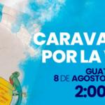 La gran Caravana por la Vida se llevará a cabo el próximo domingo 8 de agosto desde las 2:00 p.m. en la Ciudad de Guatemala. Personas de todo el país podrán unirse a la caravana de autos y buses, que saldrá desde tres puntos de la ciudad hacia la Plaza de la Constitución. Y poder celebrar así la vida y la familia, como se ha hecho en los últimos años.