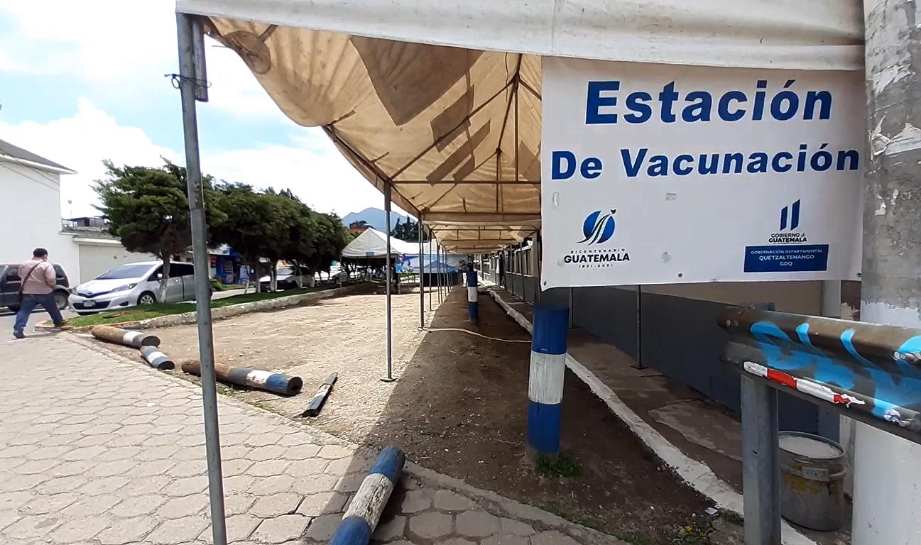Quetzaltenango se queda sin vacunas anticovid
