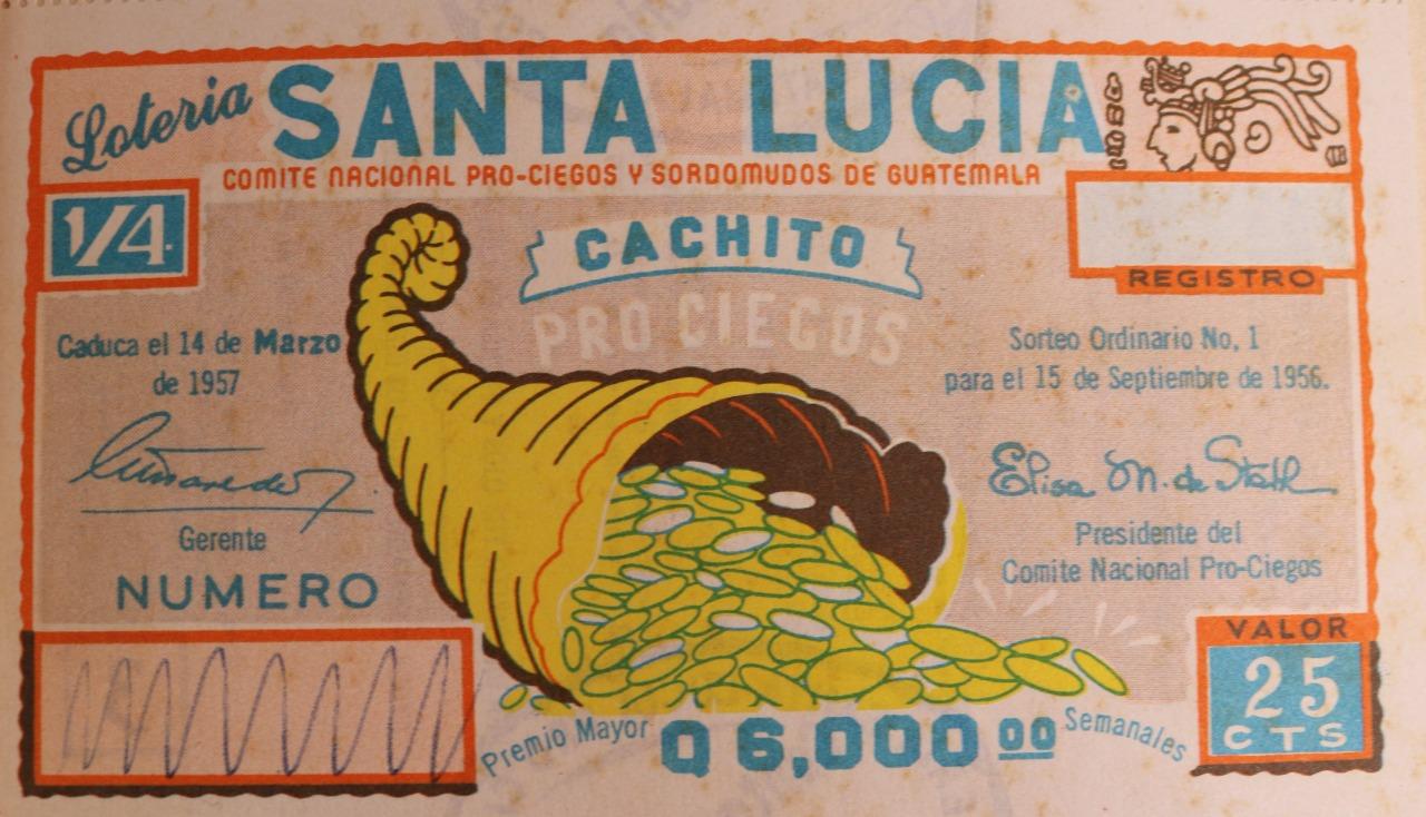 Lotería Santa Lucía cumple 65 años de realizar sueños