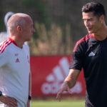 Cristiano Ronaldo se incorporó este martes por primera vez a los entrenamientos del Manchester United tras su fichaje por el club inglés; y con el debut en el punto de mira este sábado contra el Newcastle United.