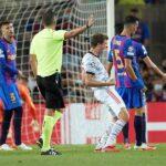 El Bayern Munich goleó al Barcelona 3-0 en el Camp Nou, con dos goles de Robert Lewandovski y uno de Thomas Müller; el juego se disputó la noche en la que se cumplieron 13 meses de la efeméride del 2-8 de Lisboa.