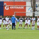 La Selección Nacional comenzó su preparación para el partido del miércoles 8 contra Nicaragua, en el estadio Pensativo. El juego está previsto para las 15 horas en el estadio colonial de Antigua Guatemala.