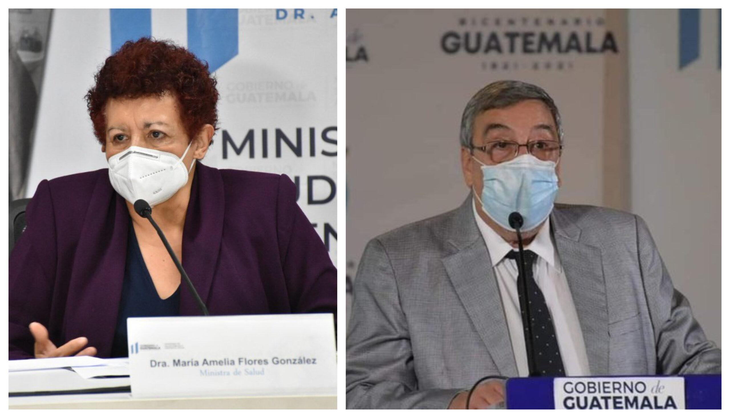 Desde el pasado 24 de agosto, la ministra de Salud, María Amelia Flores González, presentó su renuncia al presidente Alejandro Giammattei; misma que aún no ha sido aceptada y que tiene fecha para dejar el cargo 16 de septiembre.