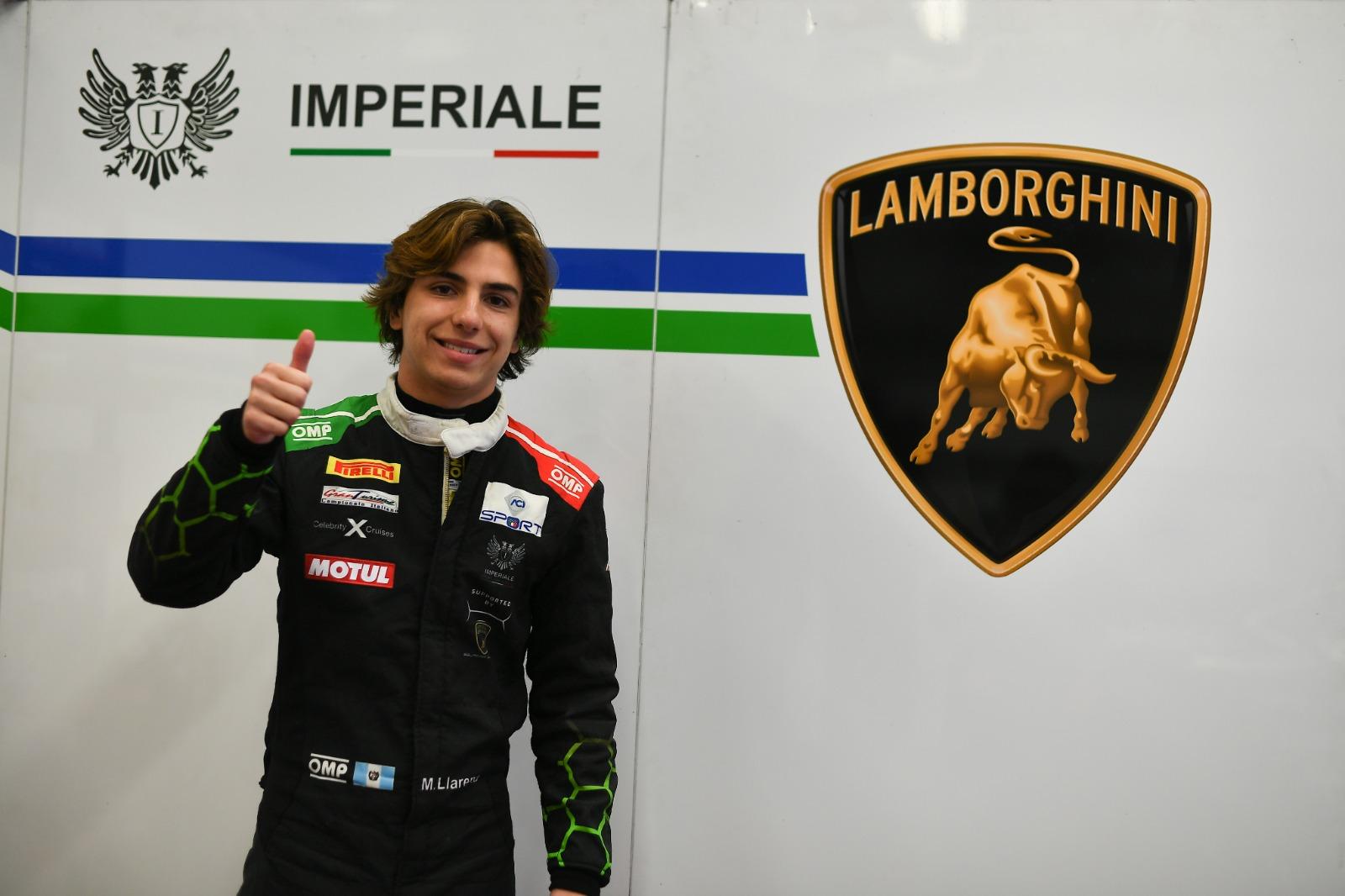 De esta manera Llarena finaliza su año de debut en el Campeonato Italiano GT Sprint 2021, en el cual vivió momentos muy intensos y felices, como subir al podio en la 2da. carrera de la 2da. fecha realizada en junio último en el World Circuit de Misano, donde finalizó en la 3ra. posición de la división PRO-AM y 6to. en la clasificación general.
