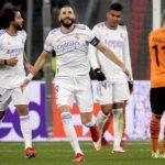 El fuerte golpe recibido en Kiev en la Liga de Campeones por Karim Benzema tiene al delantero francés sin trabajar con normalidad; el francés está ejercitándose en solitario en el gimnasio de la ciudad deportiva del Real Madrid a dos días del clásico.