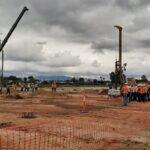 Un avance físico del 15 % muestra el nuevo hospital regional de Chimaltenango, el cual se ubicará a unos 31 kilómetros de la capital, en El Tejar.