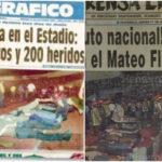 La tragedia en el estadio Nacional Mateo Flores, hoy llamado Doroteo Guamuch Flores, cumplió 25 años el pasado sábado. El 16 de octubre de 1996, casi un centenar de personas perdieron la vida aplastadas en una tribuna del estadio; ocurrió en el preámbulo de un partido eliminatorio contra Costa Rica rumbo al Mundial de Francia 1998.